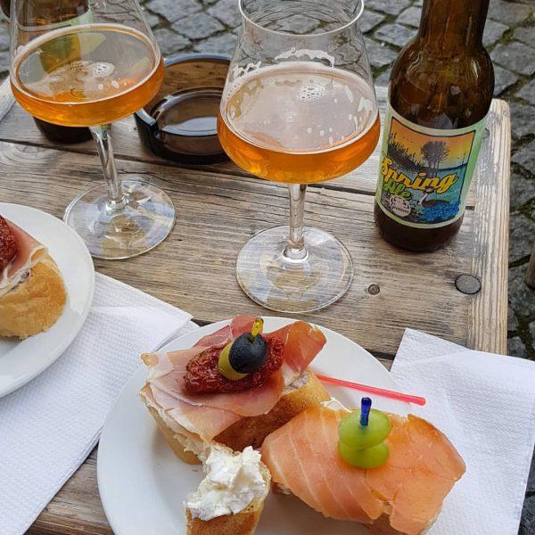 Tapas und Bier #cafesito #tapas #bier #grabherssudwerk @grabhers Cafesito