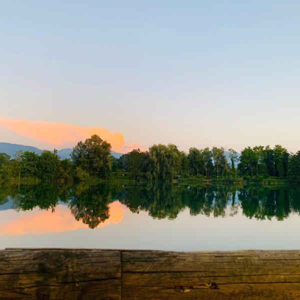 #Jannersee #Sonnenuntergang #Lauterach #sommer #Voralberg #Austria #ried #lauteracherried Lauterach (Vorarlberg)