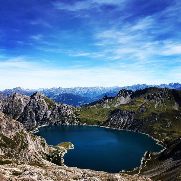 Hiking last weekend 🥾🏔 #hiking #mountains #weekendtrips #austria #vorarlberg #brandnertal #lünersee #schesaplana #trail #berge #bergliebe #topview #top...