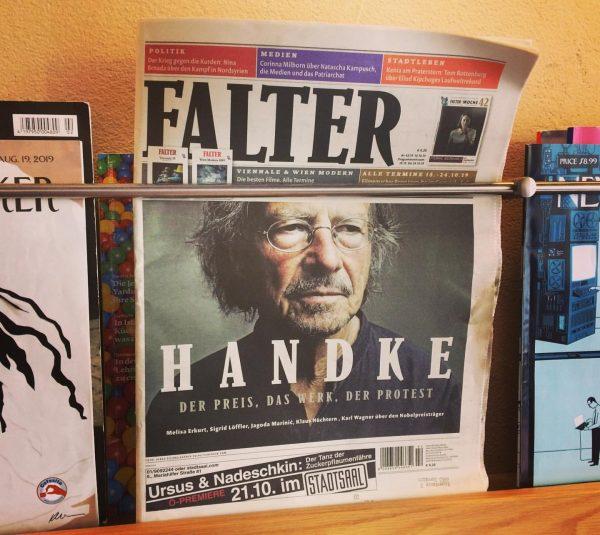 Neu bei uns im Zeitschriftensortiment ... @falter.diewochenzeitung Cafesito