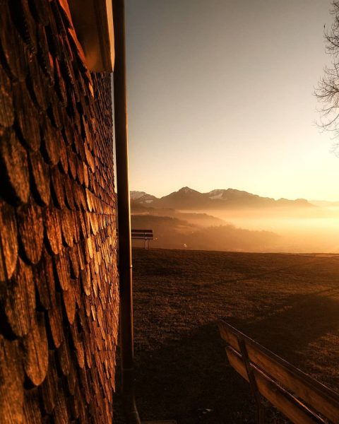 #Bildstein #österreich🇦🇹 #Austria #mountains #alps # #amazing #sunset #clouds #fog #polishgirl #adventure #trippin ...