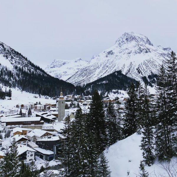 Today we took the beautiful Burgwaldtrail from Oberlech down to Lech. Lech is ...