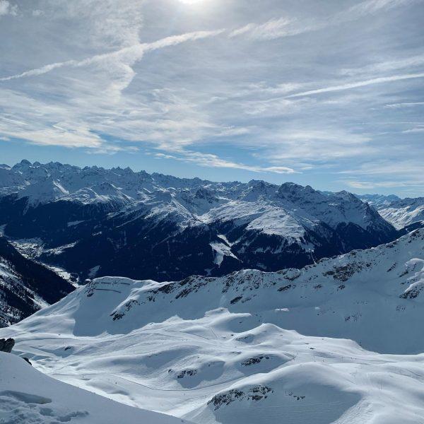 Silvretta montafon - a wonderful boarding day #alps #blusky #pizbuin #kaiserwetter #mountains #mountainlove ...