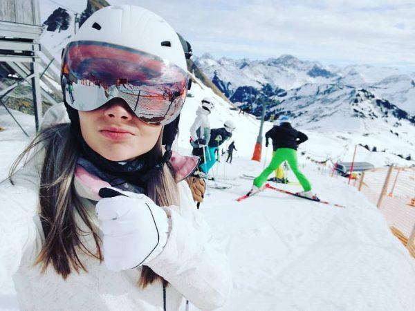 Snowing 😘 #damüls #90210 #ski #skiing #alps #whiteday #lovenature #nech #neprsi #⛷️ Skigebiet ...