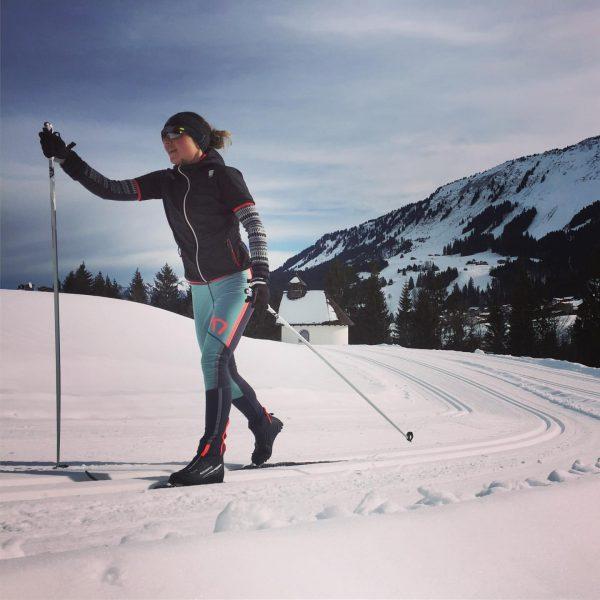 #sundayrunday Soll ich als LäuferIn klassisch langlaufen oder skaten? Beides ist gut. Skating ...