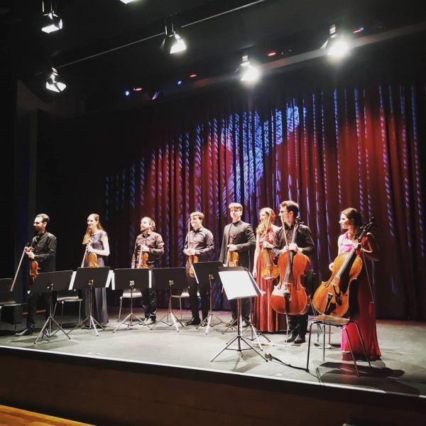 Ein fantastischer Abend mit dem @oberton.string.octet in der #remisebludenz.🎶🎶 #kulturleben #bludenz #franzschubert #edwardgrieg ...