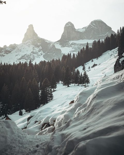 Three Towers 🗻🗻🗻 . . . . . Living in the Central Alps ...