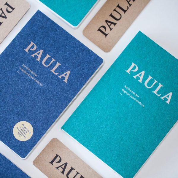 Die neue PAULA – ein literarischer Begleiter durch Feldkirch Band II – ist ...