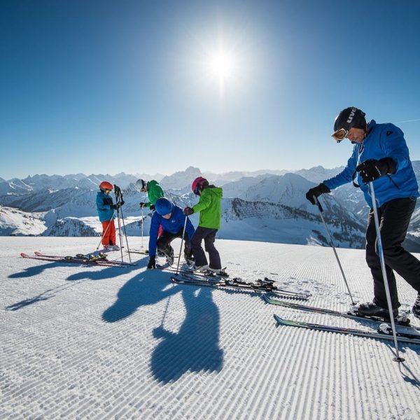 Traumhafter Skitag am Diedamskopf #familienurlaub #wanderurlaub #jagdurlaub #mountainbikeurlaub #aktivurlaub #winterurlaub #urlaub #outdoor #abenteuer ...