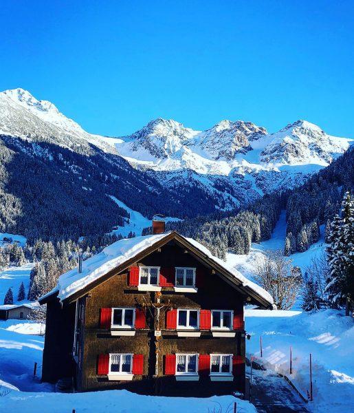 #Kleinwalsertal #schnee #winter #snow #österreich #austria #panorama #berge #mountains #himmel #sky #sonne #wintermärchen ...