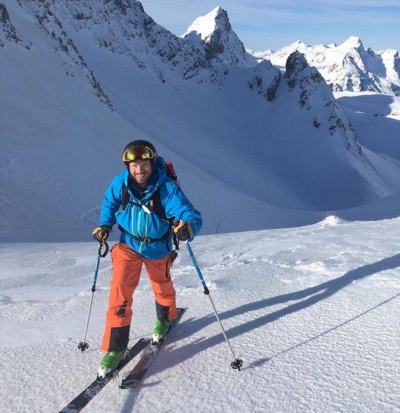 #intothewild #skitouring #perfectday #outdoor #lech #warth #hubertstrolz #unterwegs mit einem #olympiasieger Warth, Vorarlberg