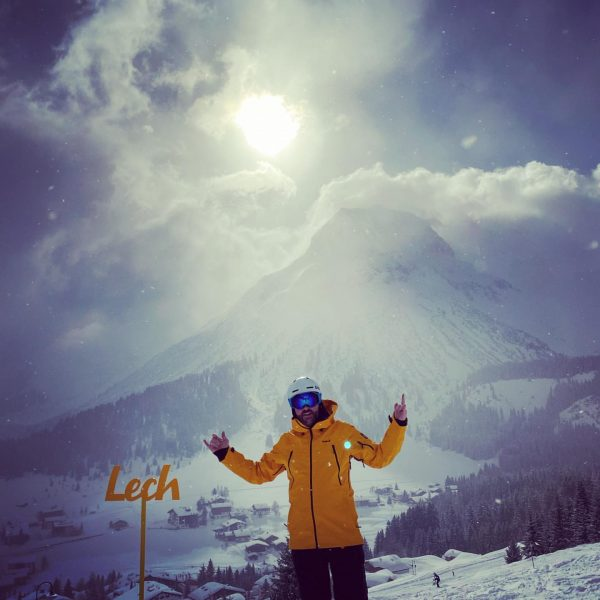 Loving life in #lech #snow #snowboarding @rudalpe_lech #lechzuers #lechzürs Rud-Alpe (Lech am Arlberg)
