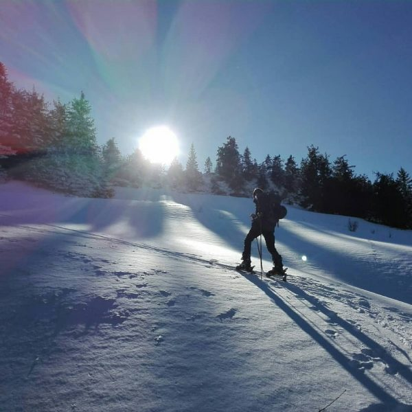 hello sunshine ☀ #wintertime #snow #ontour #skitouring #ski #lifeoutside #lifeisbetterinthemountains #landscape #visitvorarlberg #hochhäderich ...