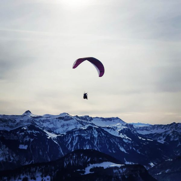 #paragliding #wonderful #upinthesky #upintheair #goodtimes #sunshine #bezau #winter #mountains #mountainlove #österreich #austria #bregenzerwald ...