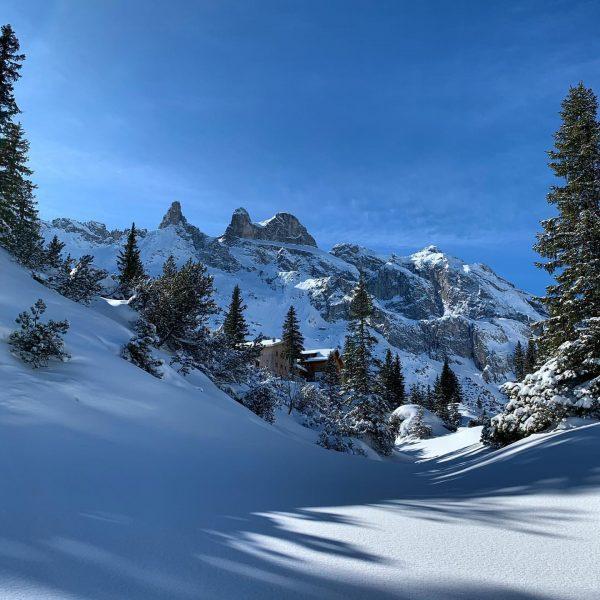 Traumkulisse im Gauertal. Eine meiner ersten Skitouren führte mich zum Klassiker: der Lindauer ...