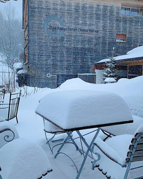 ❄️ Winter wie ein Winter sein soll. Laut dem Wetterbericht kommen noch weitere ...