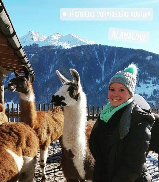 #österreich #austria #lama #kristberg #vorarlberg #schruns #wandertour #urlaub #urlaubmitfreunden #sonne #berge #schnee #winterwonderland