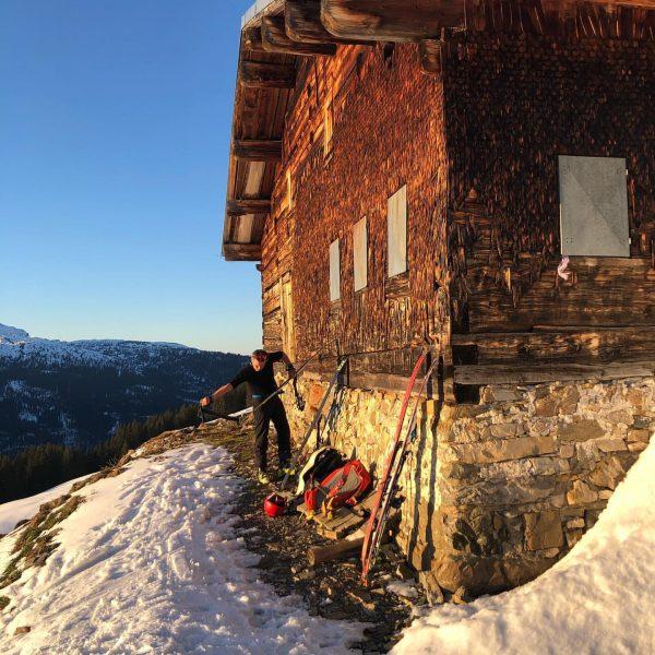 #skitouring #mittelberg #kleinwalsertal