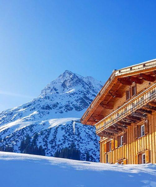 Hausberg von Lech 'Omeshorn' - Mountain 'Omeshorn' snow #winter #mountain #⛰ #landscape #mountains ...