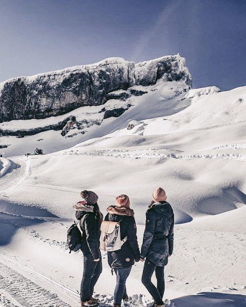 Special place for a winter hike #hoherifen #austria #germany #hikingadventures #kleinwalsertal #winterwonderland #snowhiking ...