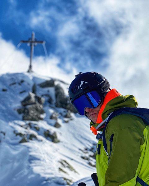 Wetter am WE war nicht so schlecht @silvrettamontafon 🤙🏻.... Gipfel ist in Reichweite ...