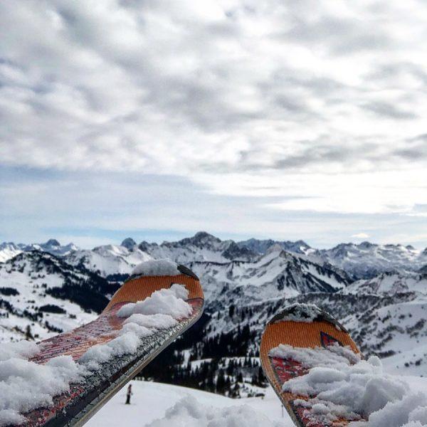 #berge #austria🇦🇹 #damüls #panoramaroute #fischerski #2020 #snow Skigebiet Damüls - Mellau