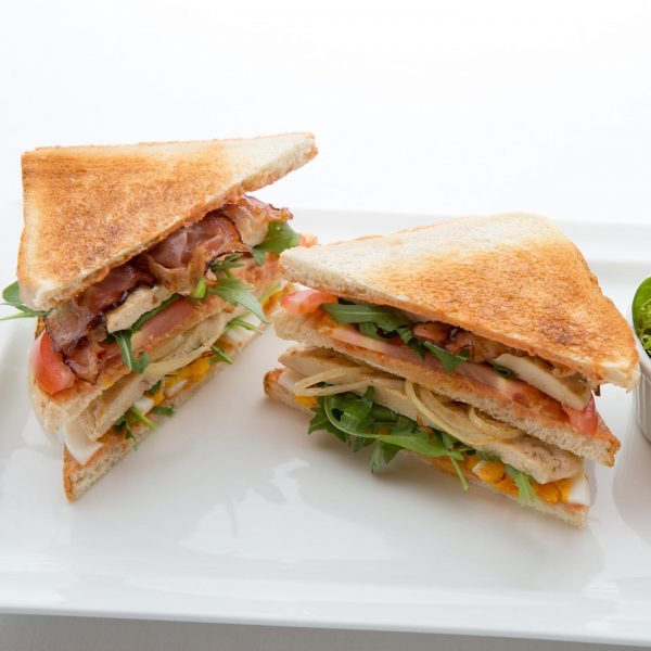 Life is like a clubsandwich, you have to fill it with the best ...