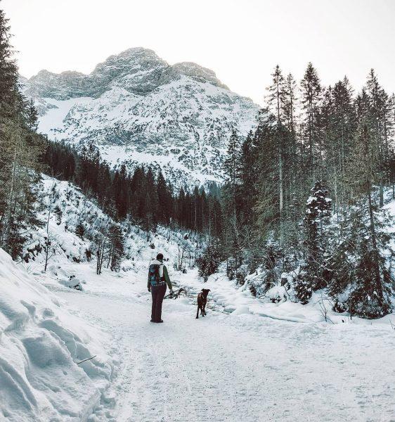 Willkommen in der schönsten Sackgasse Österreichs. ❤️ . Durch Schnee und Eis zum ...