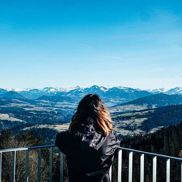 Views for days. Our way to cope with Monday moods. Yesterday's panorama at ...