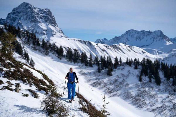 Awesome ski tour with @olaf_beilmann last weekend Falzer Kopf