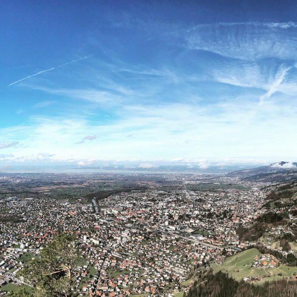 landscape . . . #dornbirn #skyline #cityphotography #mountains #karren #visitvorarlberg Karren Dornbirn