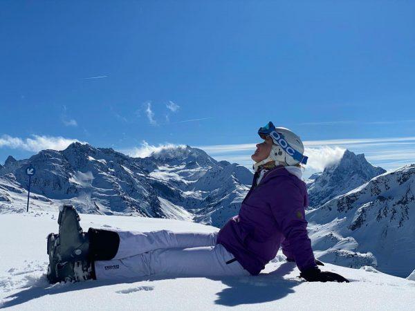 Самая красивая погода в горах - чистое небо и яркое солнце ☀️ Lech, Vorarlberg, Austria