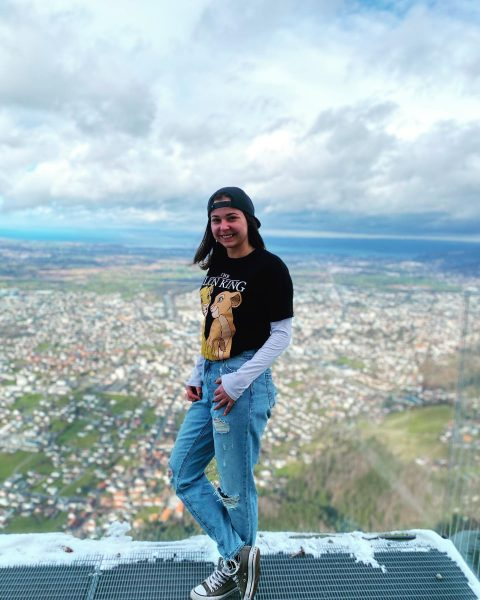 Keep on, one day it's done #austria #mountains #panorama #bodensee #thelionking #converse #austriangirl ...