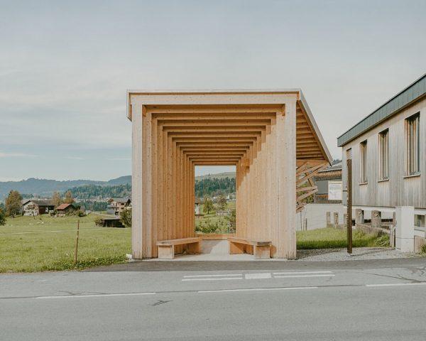 Front views in Krumbach. Amateur Architecture Studio Krumbach, Vorarlberg