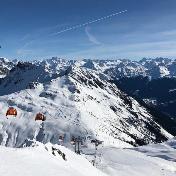 #hochjoch #montafon #ski #skiing #grasjoch #wintersport #winter #austria Silvretta Montafon