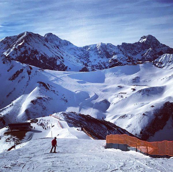 #Skiën #Kleinwalsertal #Mountains #Snow #wintersport #Vorarlberg #Oostenrijk #Österreich #Austria