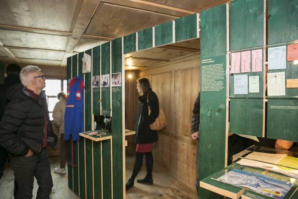 """#neuedoppelausstellung """"Wem gehört das Bödele? Eine Kulturlandschaft verstehen"""" zu sehen im @angelikakauffmannmuseum in ..."""