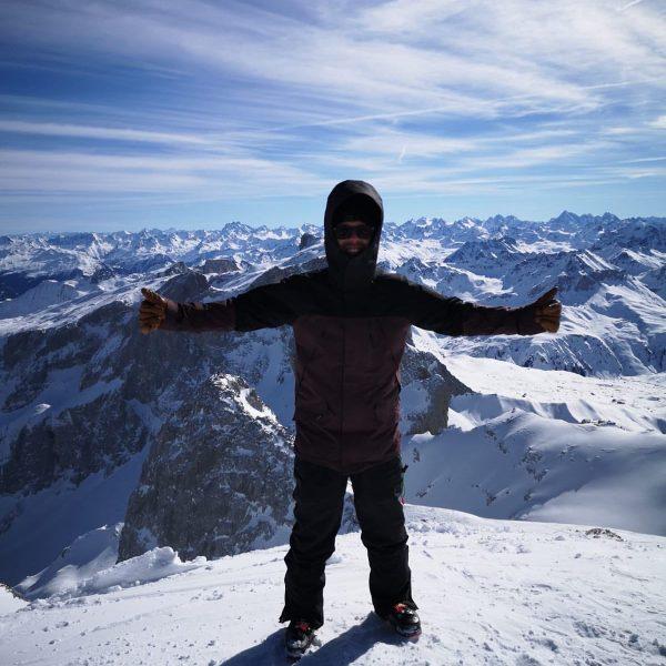 One of the best skitours so far. 22km 1800hm #ski #touring #freeride #powder #mountaneering #mountains #nature #sweat...