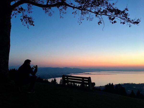 Blick von Eichenberg auf den Bodensee . . . #eichenberg #bezirkbregenz #vorarlberg #österreich ...