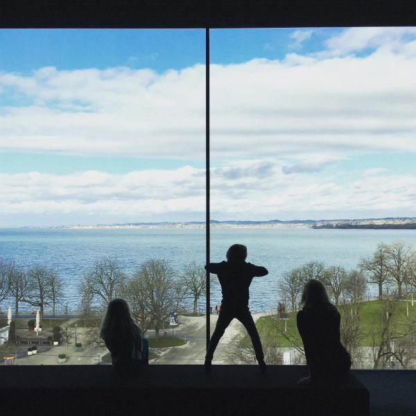 Panoramafenster im #vorarlbergmuseum #bregenz #bodensee Vorarlberg Museum