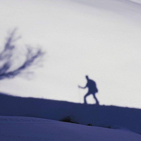 Shadowman🤣 Skitour Toblermannskopf Schoppernau im #bregenzerwald #shadow #sunnyday #vorarlberg #skitour #mountains #mountainlove #austria🇦🇹 ...