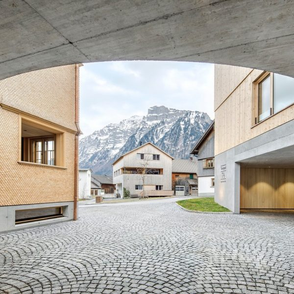 Tempel 74 #bregenzforest #mellau #holidayapartments #tempel74 #architecture #craftsmanship #wood #concrete #light #views #loggia ...
