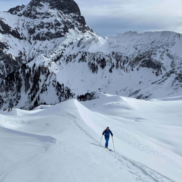 #skitouring #skimo #ski #allgäu #alps #kleinwalsertal #baad