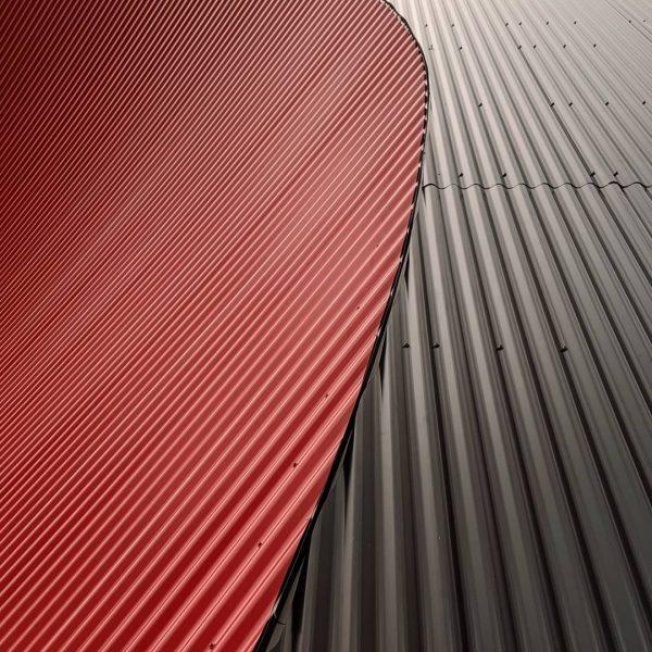 My Valentine ❤️🖤 #architecture #australia #dornbirn #details #curves #teampixel #steel #pavillion #zumtobel #martemartearchitects ...