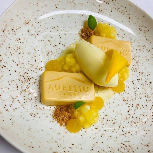 Sig : Pineapple #dessert #pastry #lech #madewithlove #aurelio #sig Gourmet Restaurant Aurelio's