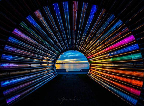 Tunnelblick 😉😉😉😉 . . . . #visitaustria #meinvorarlberg #bregenz #visitbodensee #spendan #light #lakeofkonstanz ...