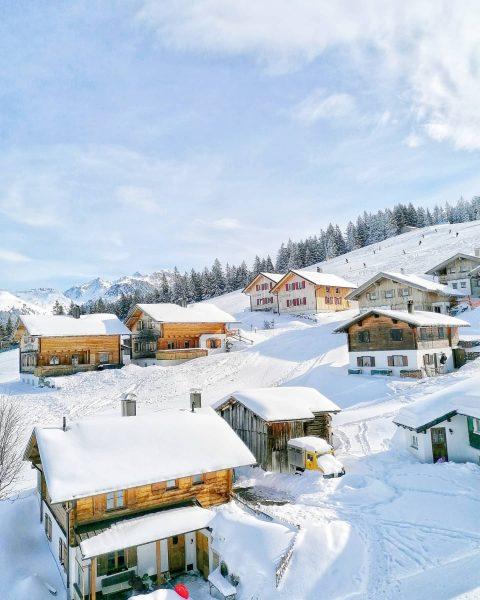 For a little bit more.... . #Austria #vorarlberg #winter #winterwonderland #snow #snowday #sunnyAustria ...