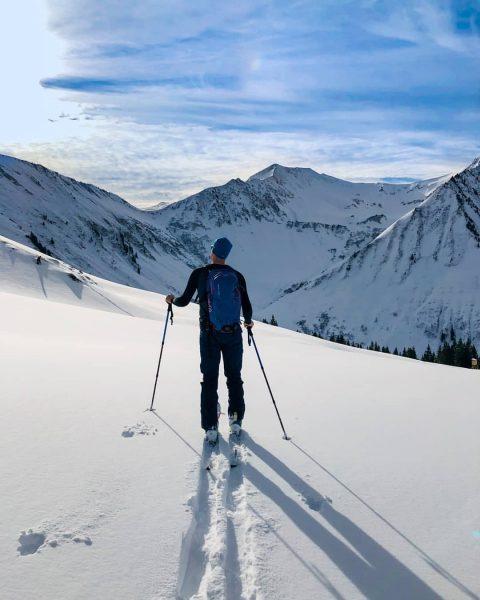 🎿 Skitour Grünhorn 2.039m und Steinmandl 1.982m ☀️⛷️ . . . Von Schoppernau ...