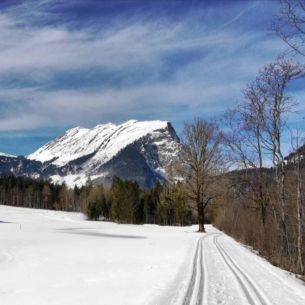 #schoppernau #bregenzerwald #vorarlberg #austria #kanisfluh #outdoor #nature #landscape #mountains #trees #snow #winter #beautifulday ...