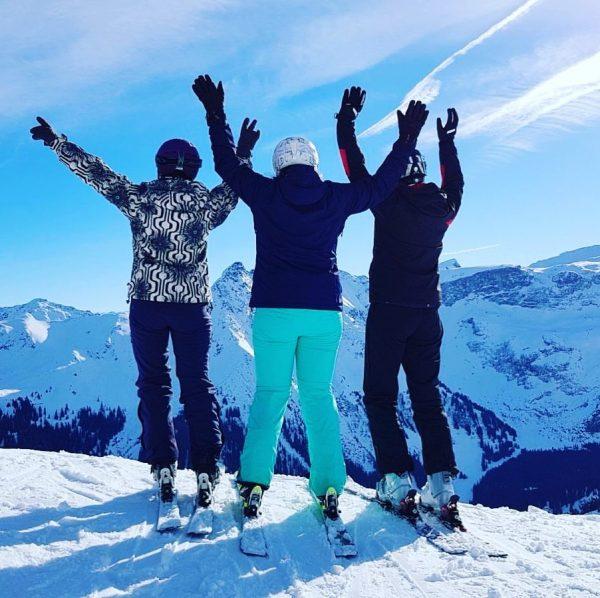 Ein Hoch auf das Skifahren ❄️⛷🎿 #skifahren #skiing #winter #montafon #vorarlberg #austria #snow ...